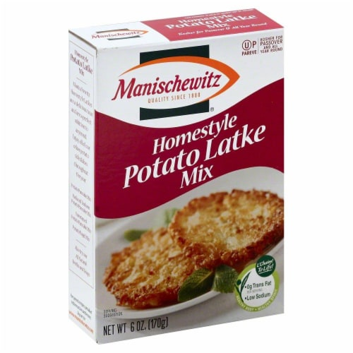 Manischewitz Homestyle Potato Latke Mix Perspective: front