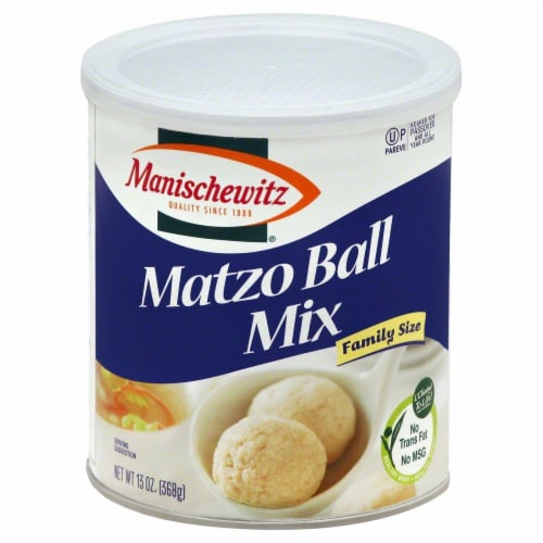 Manischewitz Family Size Matzo Ball Mix Perspective: front