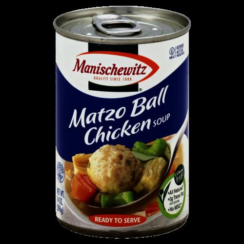 Manischewitz Matzo Ball Chicken Soup Perspective: front