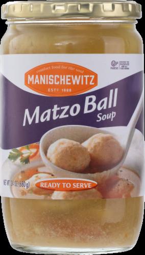 Manischewitz Matzo Ball Soup Perspective: front