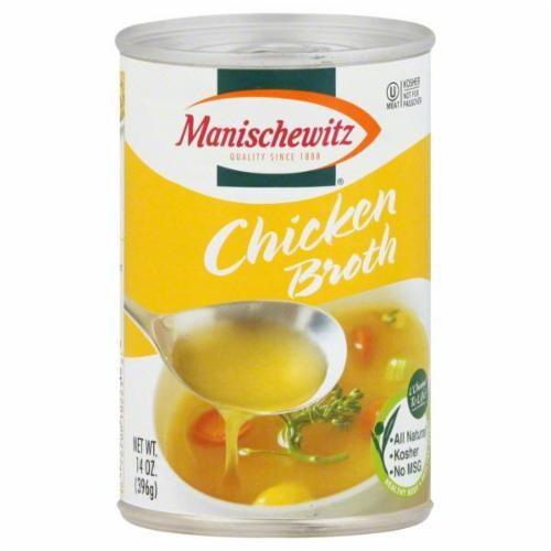 Manischewitz Chicken Broth Perspective: front