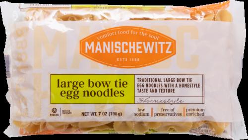 Manischewitz® Large Egg Bows Noodles Perspective: front