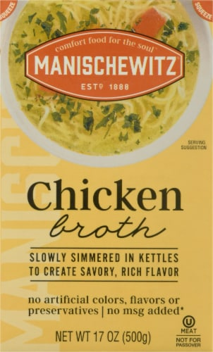 Manischewitz Chicken Broth Perspective: front