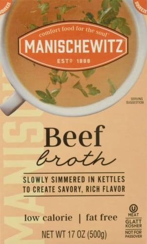 Manischewitz Beef Broth Perspective: front