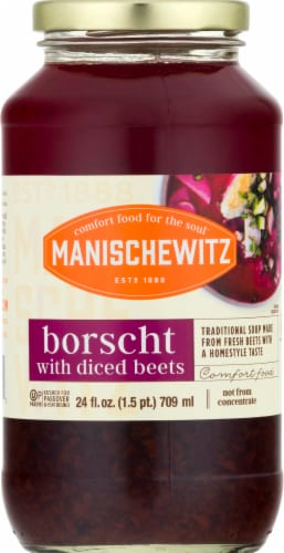 Manischewitz Borscht with Diced Beets Perspective: front