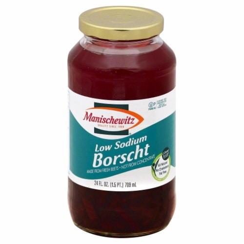 Manischewitz Reduced Sodium Borscht Perspective: front