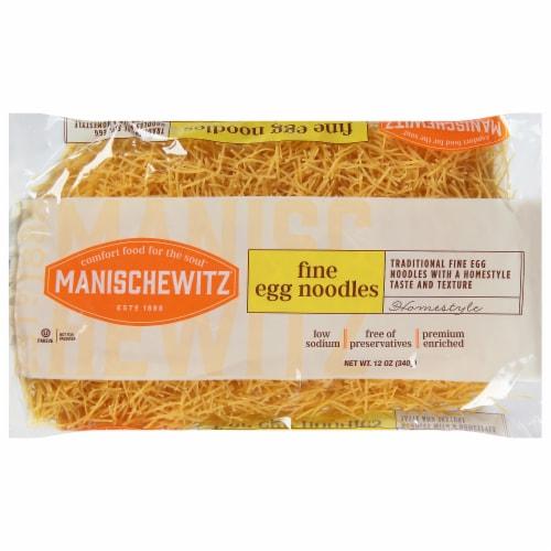Manischewitz Fine Egg Noodles Perspective: front