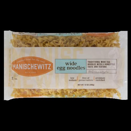 Manischewitz Wide Egg Noodles Perspective: front