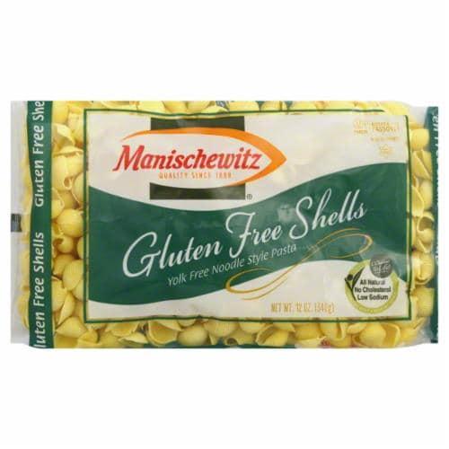 Manischewitz Gluten Free Shells Perspective: front