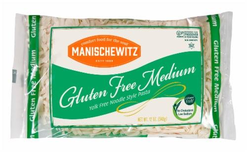 Manischewitz Passover Gold Yolk Free Medium Noodles Perspective: front