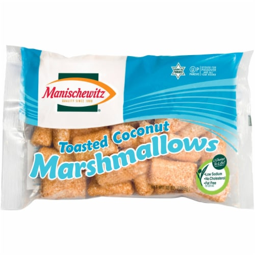 Manischewitz Toasted Coconut Marshmallows Perspective: front
