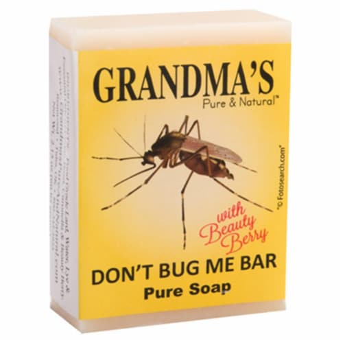 Grandma's Don't Bug Me Insect Repellent 2 Oz. Bar Soap 67023 Perspective: front