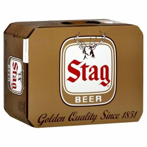 Stag Beer Perspective: front