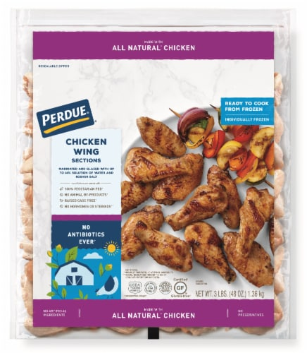 Perdue Chicken Wings Perspective: front