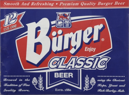 Burger Classic Beer Perspective: front