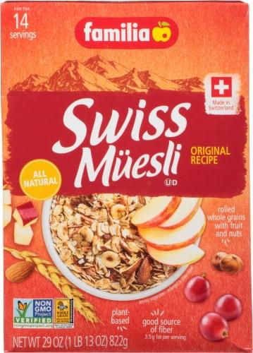 Familia Original Recipe Swiss Muesli Perspective: front