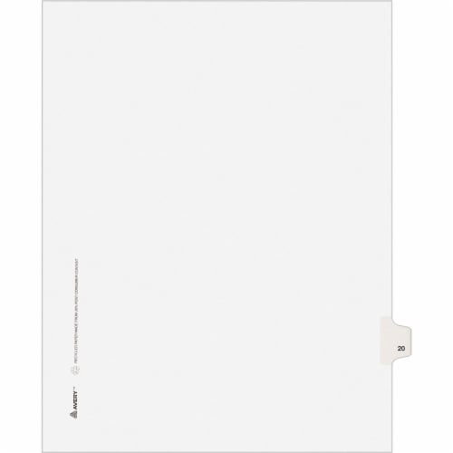 Avery®  Index Divider 01020 Perspective: front