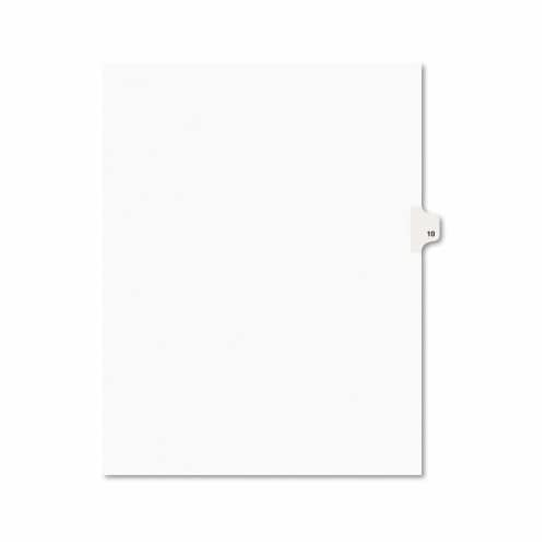 Avery Index,Ltr,Sde10,25/Pk,Wht 11920 Perspective: front