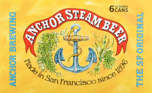 Anchor Brewing Co. Steam Beer Perspective: front