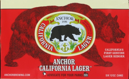 Anchor California lager Perspective: front