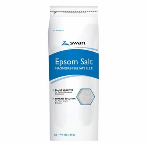 Swan Epsom Salt 64 oz. 1 pk - Case Of: 1; Each Pack Qty: 1; Perspective: front