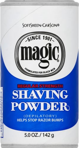 Magic Regular Strength Shaving Powder Perspective: front