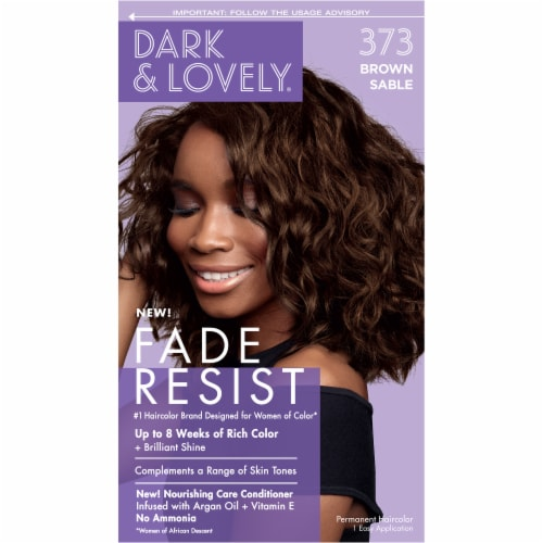 Dark & Lovely® 373 Brown Sable Fade Resist Hair Color Perspective: front