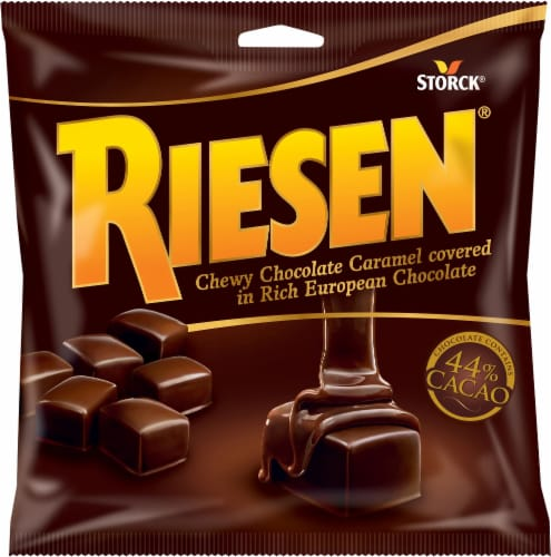 Riesen Chewy Chocolate Caramels Perspective: front