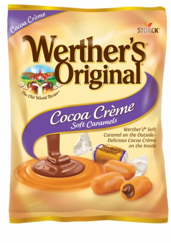 Werther's Original Cocoa Creme Soft Caramel Perspective: front