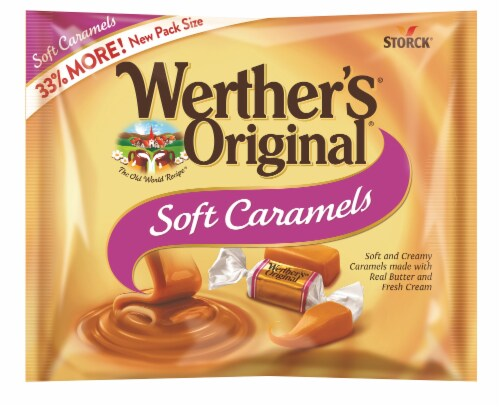Werther's Original Soft Caramels Perspective: front
