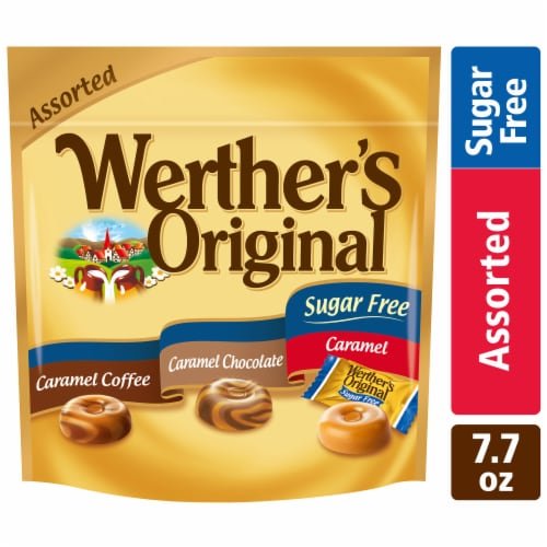 Werther's Original Sugar Free Mix Perspective: front