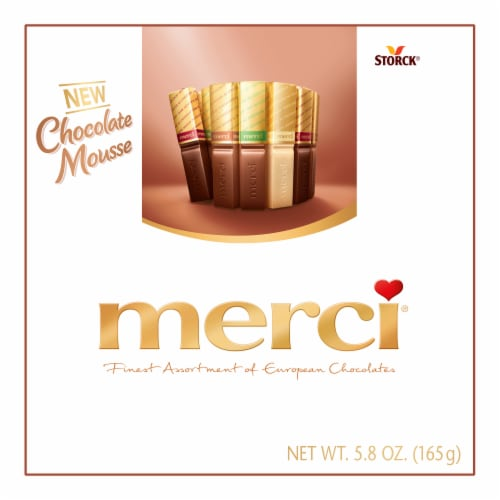Merci Chocolate Mousse Assortment Perspective: front