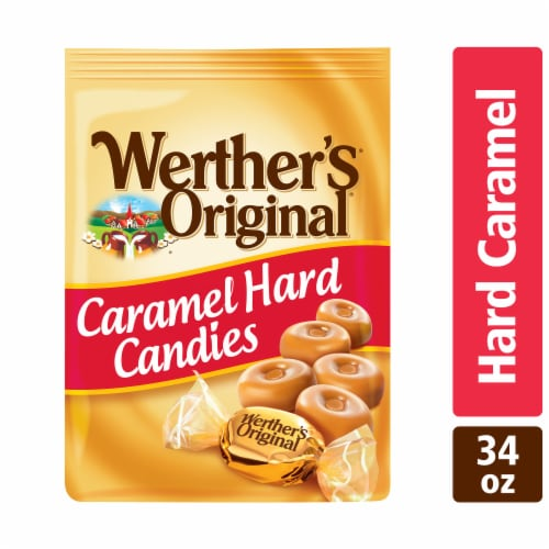Werther's Original Caramel Hard Candies Perspective: front
