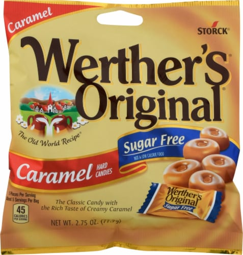 Werther's Original Sugar Free Hard Candies Perspective: front