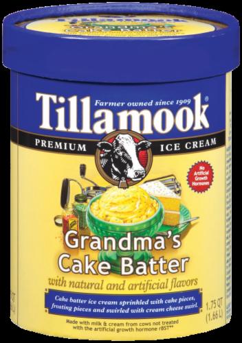 Tillamook Grandmas Cake Batter Ice Cream