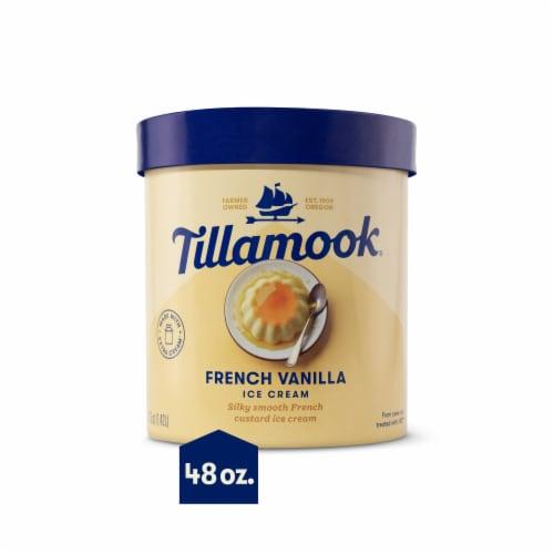 Tillamook French Vanilla Ice Cream Perspective: front