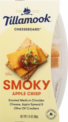 Tillamook Cheeseboard Smoky Apple Crisp Cheese Snack Perspective: front