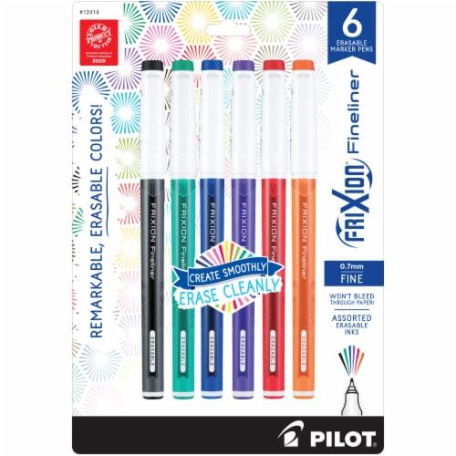Pilot Frixion Fineliner Erasable Marker Pens Perspective: front