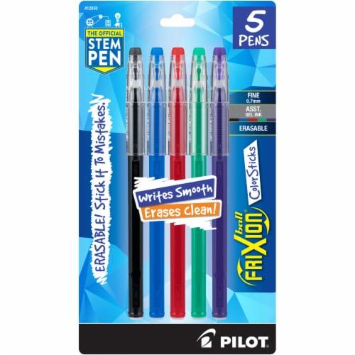 Pilot Frixion Color Sticks Erasable Gel Pens Perspective: front