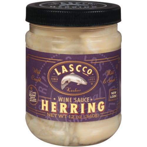 Lascco Herring  in Wine Sauce Perspective: front