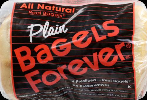 Bagels Forever Plain Perspective: front