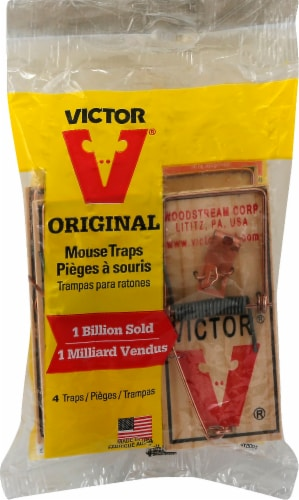 Victor® Metal Pedal Mouse Trap Perspective: front