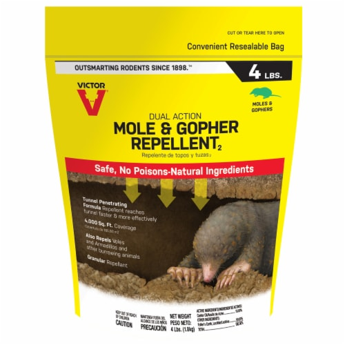 Victor® Mole & Gopher Repellent Perspective: front