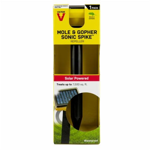 Victor® Mole & Gopher Sonic Spike Perspective: front