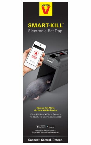 Victor Smart-Kill Battery Operated Electronic Rat Trap M2 Perspective: front