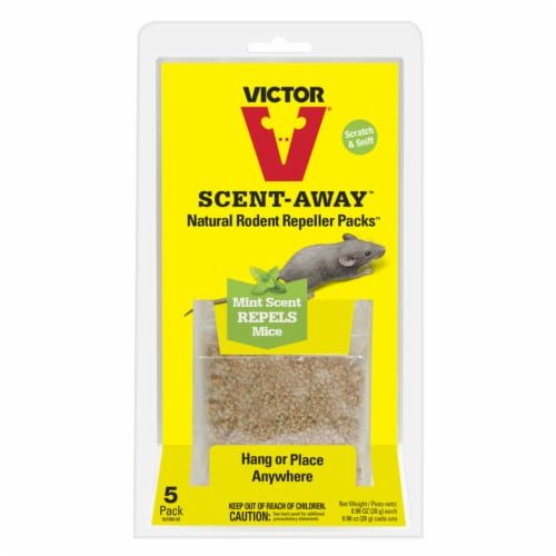 Woodstream M805 Scent Away Rodent Repellant, 5 Pack Perspective: front