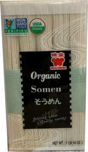 Wei-Chuan Organic Japanese Somen Soba Perspective: front