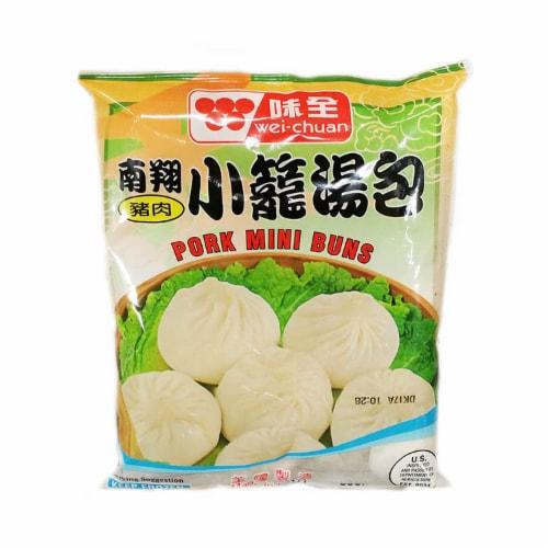 Wei Chuan Mini Bbq Pork Buns Perspective: front