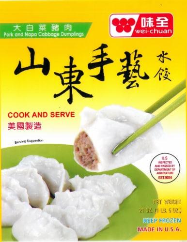 Wei-Chuan Shandong Pork & Napa Dumpling Perspective: front