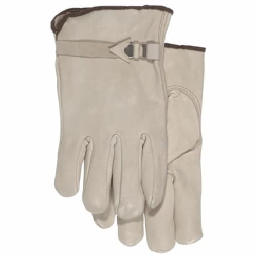 Boss Men's Indoor/Outdoor Driver Gloves Tan L 1 pair - Case Of: 1; Each Pack Qty: 1; Perspective: front